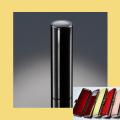 実印 チタン印鑑 ミラーブラック 16.5mm ケース付