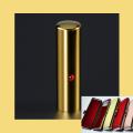 実印 チタン印鑑 ミラーゴールド ジュエリー入り 16.5mmケース付