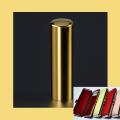 実印 チタン印鑑 チタン印鑑 ミラーゴールド 16.5mm ケース付