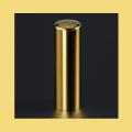 実印 チタン印鑑 チタン印鑑 ミラーゴールド 18mm