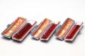実印・銀行印・認印 琥珀 特選 15+12+10.5mm 3本モミ皮ケース付セット