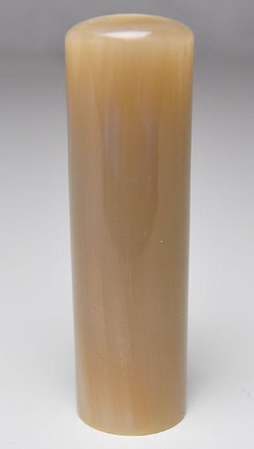 オランダ水牛 純白(白卸) 実印 18.0mm×60mm