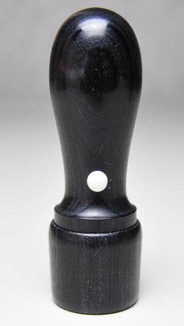 信玄(黒彩華) 会社実印 天丸さや18.0mm×60mm