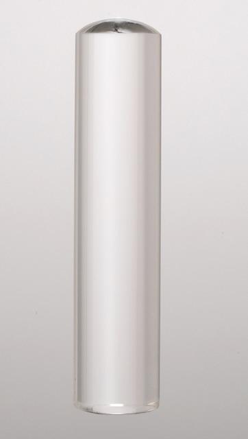 宝石印(貴石印) クリスタル(水晶) 銀行印 12.0mm×60mm