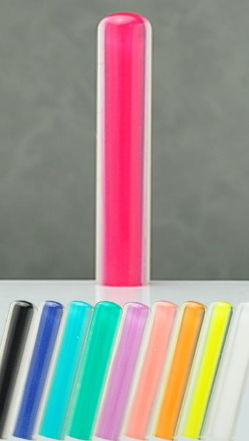 オーロラ(全10色) 認印 12.0mm×60mm