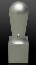 チタン(ブラスト) 会社角印 天丸角21.0mm×60mm