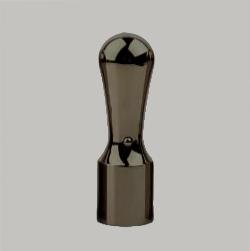法人実印 ブラックミラーチタン18.0mm天丸
