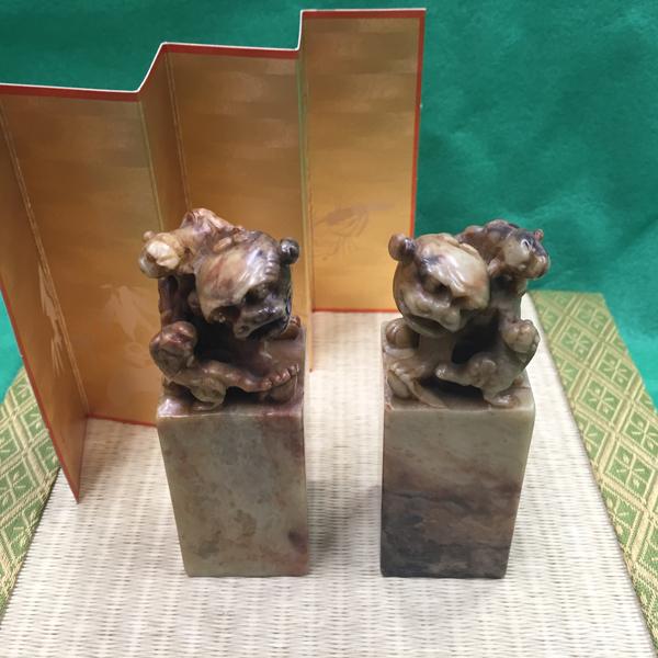 寿山石(じゅざんせき)落款用石材