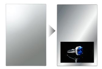 ES1020-M01 (10.1インチミラーモニター)【アイテム】
