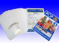 ミニのぼり旗印刷用布(A4)/ミニチチテープ/ミニのぼりポール/台座付 フルセット