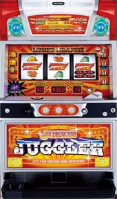 【コイン不要機付】 ジャンキージャグラー オレンジパネル (北電子)