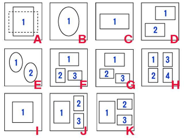 中枠11種類