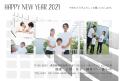 2021写真の年賀状