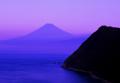 送料無料・特選クリスタル富士山写真&高級アルミ額縁セット-B003