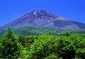 送料無料・特選クリスタル富士山写真&高級アルミ額縁セット-B004