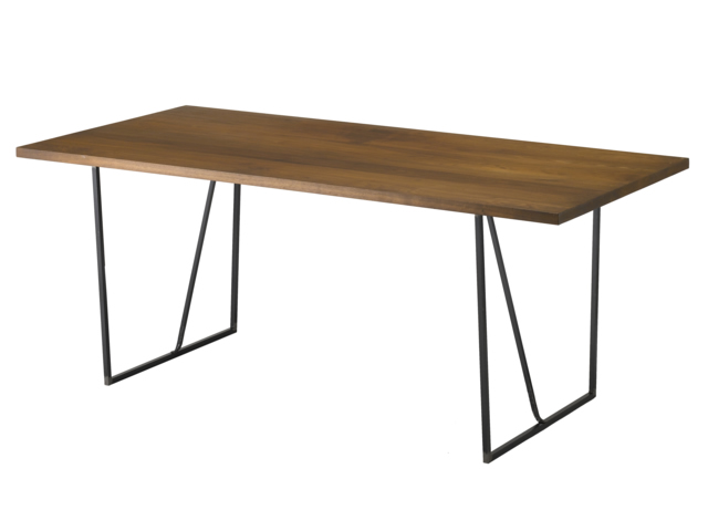 KAKU ダイニングテーブル 1500~2000 クロテツ 杉山製作所/アイアン