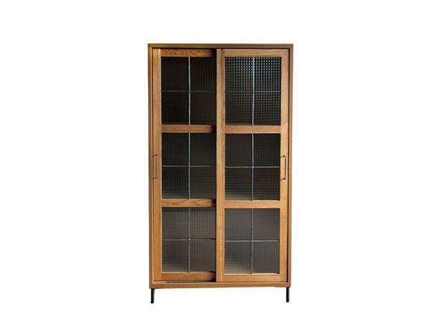 cadeal slide glass cabinet high カデルスライドガラスキャビネットハイ a.depeche アデペシュ/キャビネット