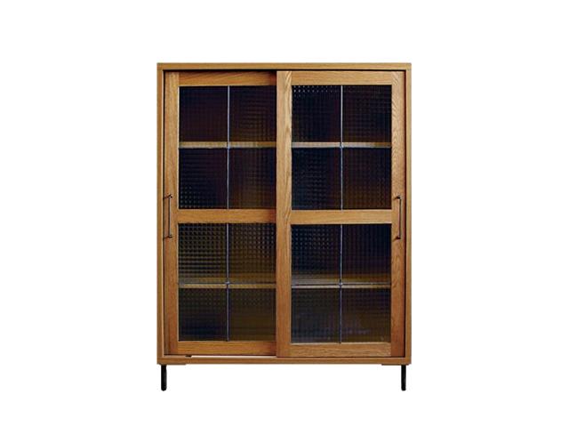 cadeal slide glass cabinet low カデルスライドガラスキャビネットロー a.depeche アデペシュ/キャビネット