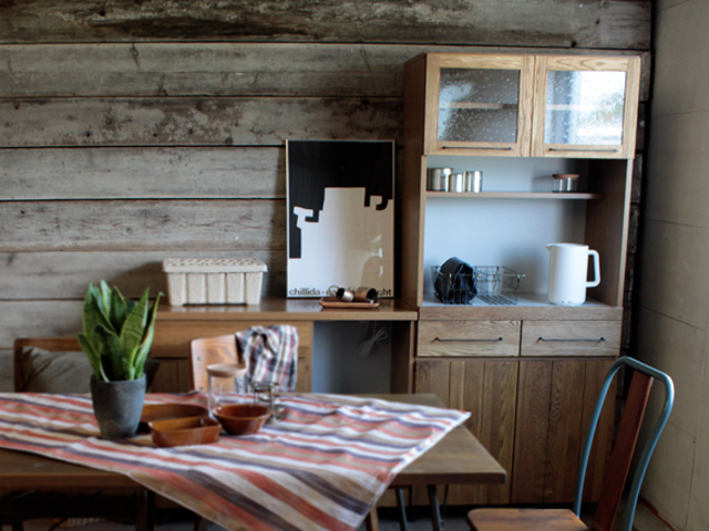 cadeal kitchen board 800 カデルキッチンボード800 a.depeche アデペシュ/ダイニングボード/食器棚