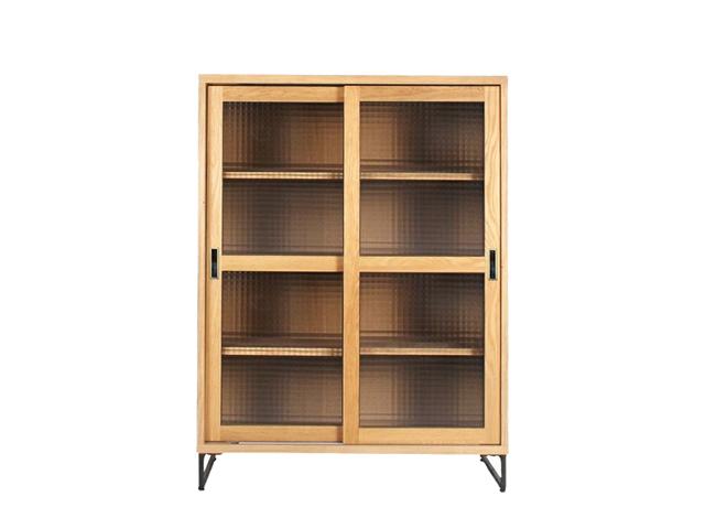 splem slide glass cabinet low スプレムスライドガラスキャビネットロー a.depeche アデペシュ