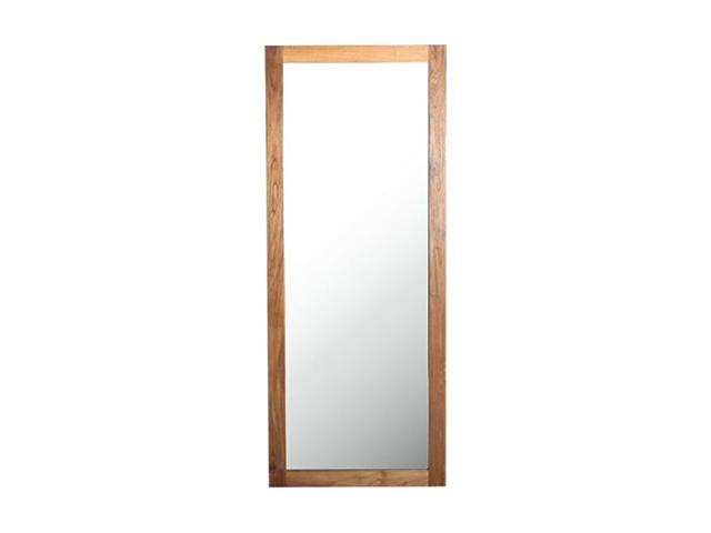 old teak mirror オールドチークミラー a.depeche アデペシュ/鏡
