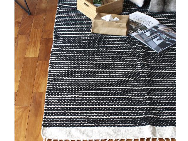 cotton rug rectangle square コットンラグ レクタングル スクエア a.depeche アデペシュ カーペット 綿