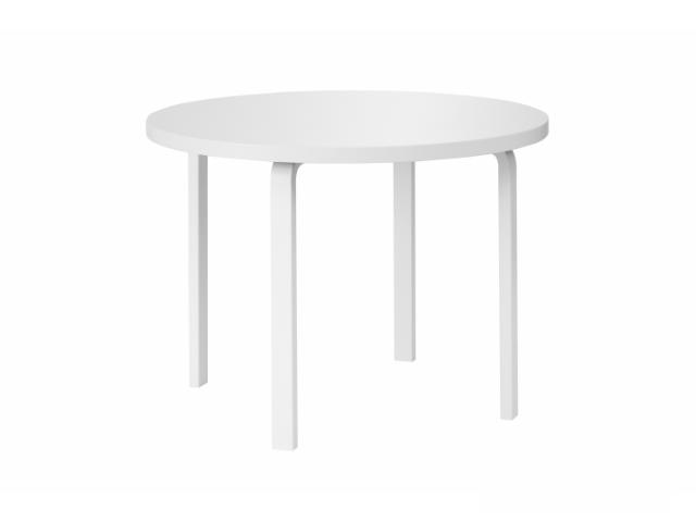 90A/91 テーブル ALVAR AALTO 1935 artek アルテック リノリウム ラウンド 円形