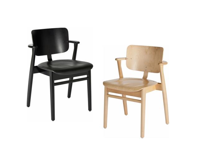 ドムスチェア ILMARI TAPIOVAARA 1946 artek アルテック 椅子 セミアーム 板座
