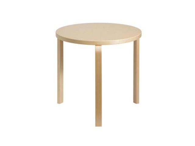 90B テーブル ALVAR AALTO 1935 artek アルテック リノリウム ラウンド 円形