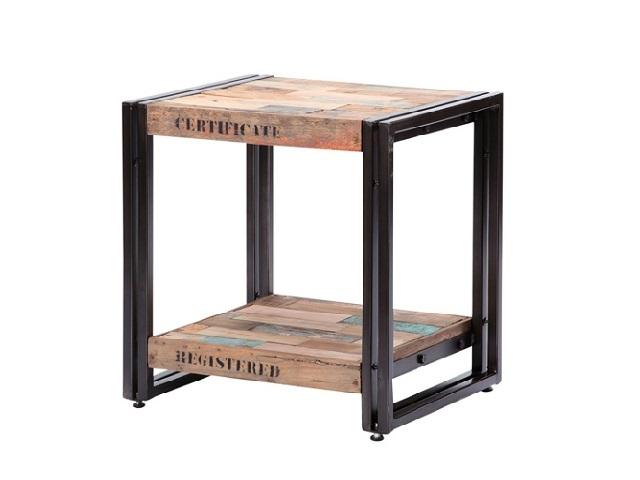 FERUM INDUSTRIAL SIDE TABLE フェルム インダストリアル サイドテーブル