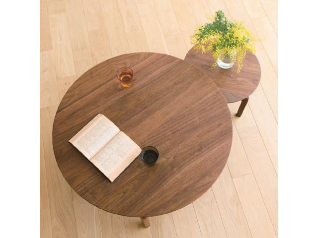 LISCIO リッショ ローテーブル サークル DENTOU KOUGEI 伝統工芸 無垢材 森宣雄 ラウンド 円形