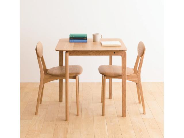 LISCIO リッショ ダイニングテーブル スクエア DENTOU KOUGEI 伝統工芸 無垢材 森宣雄 正方形 2人掛け 4人掛け
