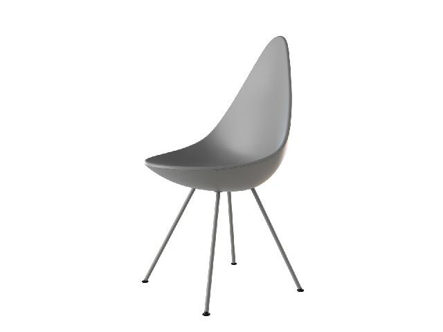 DROP ドロップ FRITZ HANSEN フリッツ・ハンセン/チェア 椅子 Arne Jacobsen アルネ・ヤコブセン
