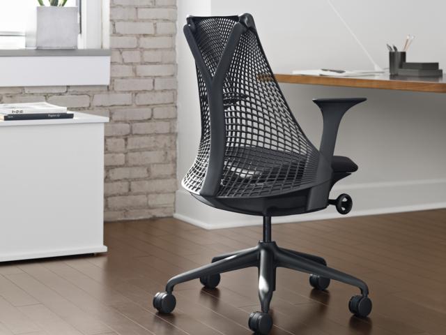セイルチェア  ブラックフレーム HermanMiller ハーマンミラー 椅子 オフィス デスクチェア ワーク