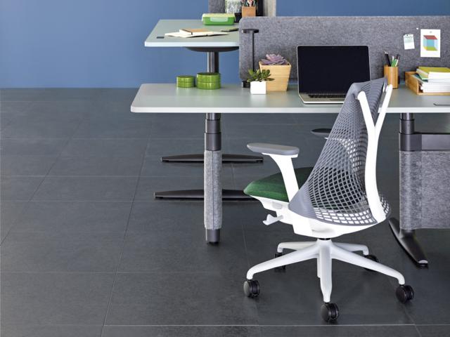 セイルチェア  ホワイトフレーム×フォグベース HermanMiller ハーマンミラー 椅子 オフィス デスクチェア ワーク