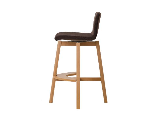 RICO Counter Chair リコ カウンターチェア 平田椅子製作所 木製 ハイチェア 回転