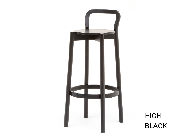 CASTOR BARSTOOL WITH BACKREST HIGH/LOW キャストールバースツールバックレスト KARIMOKU NEW STANDARD カリモクニュースタンダード