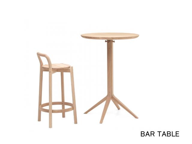 SCOUT BISTRO TABLE スカウトビストロテーブル/ローテーブル/バーテーブル KARIMOKU NEW STANDARD カリモクニュースタンダード
