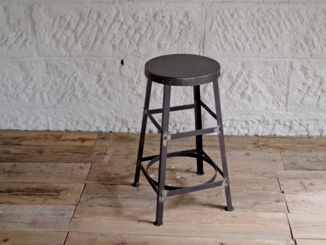 NA IRON HIGH STOOL NAアイアンハイスツール LIFE FURNITURE ライフファニチャー