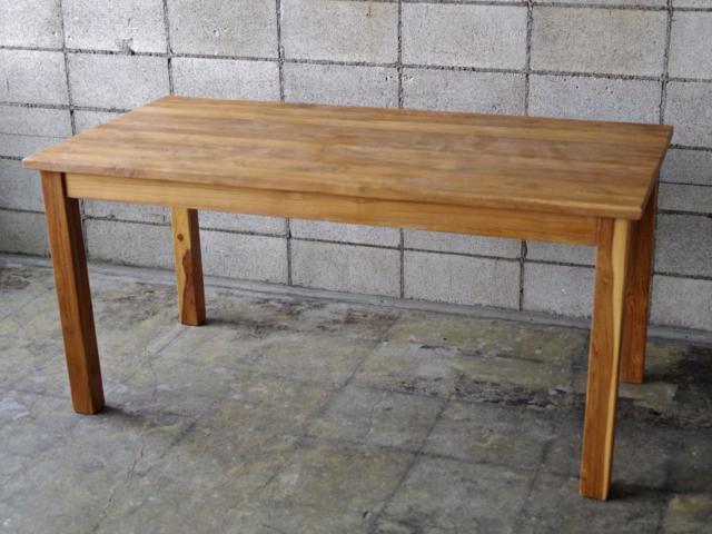 OLD TEAK TABLE:L オールドチークカフェテーブル:L テーブル LIFE FURNITURE ライフファニチャー