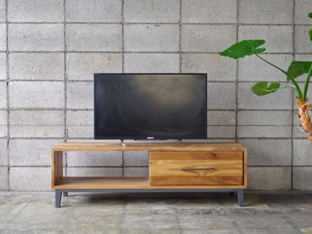 OLD TEAK TV BOARD オールドチークテレビボード LIFE FURNITURE ライフファニチャー