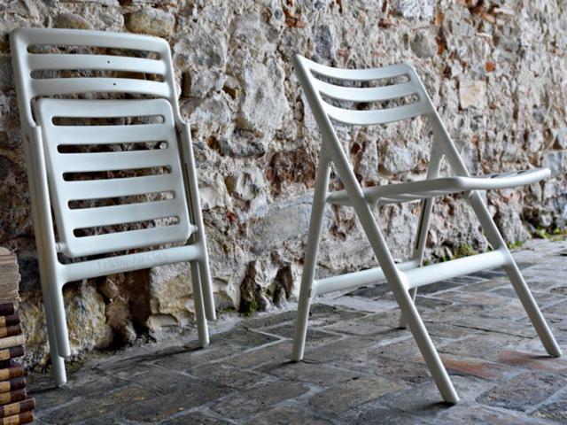 Folding Air-Chair フォールディングエアチェア MAGIS マジス 椅子 屋外 アウトドア ガーデン ジャスパーモリソン 折りたたみ