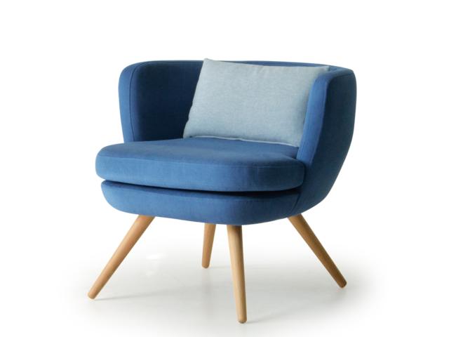 Wooden Stories BOWLER chair ボウラーチェア moda en casa モーダエンカーサ/椅子 1人掛けソファ