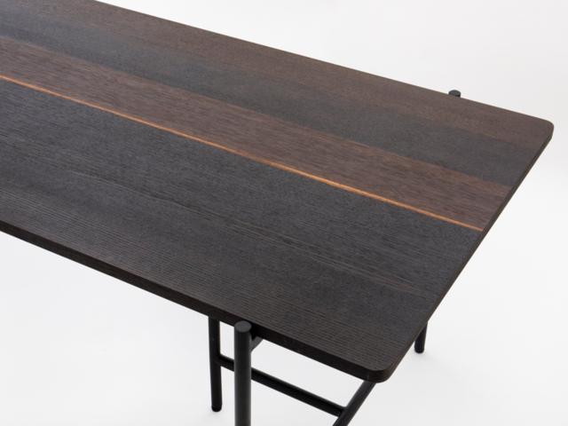 PIPA smoke oak table ピパスモークオークテーブル moda en casa モーダエンカーサ/W1400・W1600・W1800