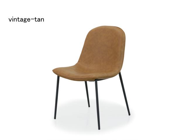 SOLO chair ソロチェア moda en casa モーダエンカーサ 椅子 合皮 メタル ヴィンテージ