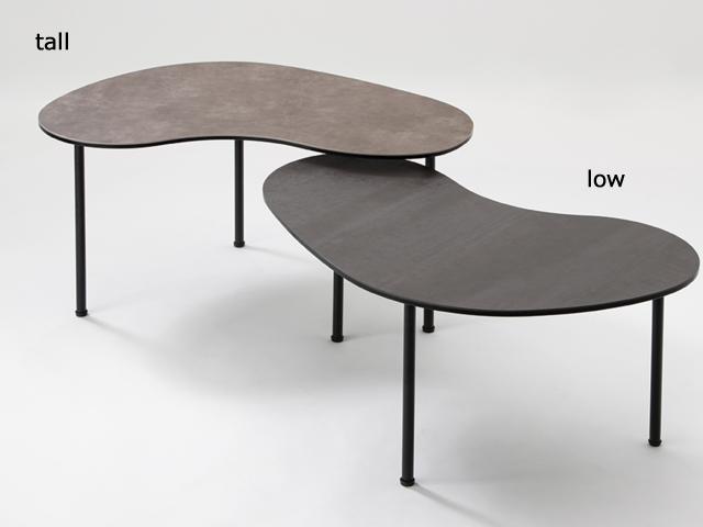 BEAN coffee table tall/low ビーンコーヒーテーブル moda en casa モーダエンカーサ ロー センター