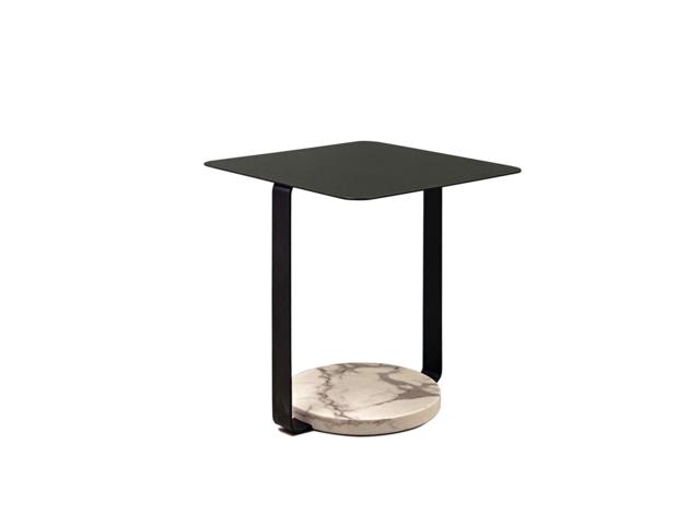 TANGENT side table タンジェント サイドテーブル moda en casa モーダエンカーサ スチール ブラック
