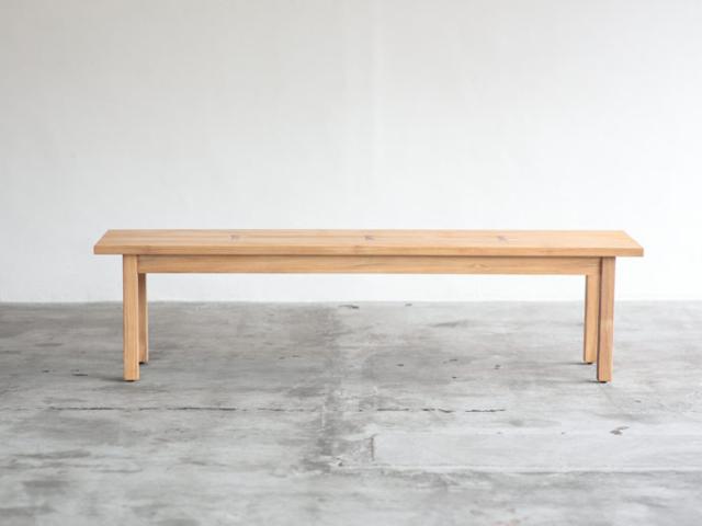 Bench TUSKER Wood ベンチ タスカ― ウッド NOWHERE LIKE HOME ノーウェアライクホーム1200 1600 板座