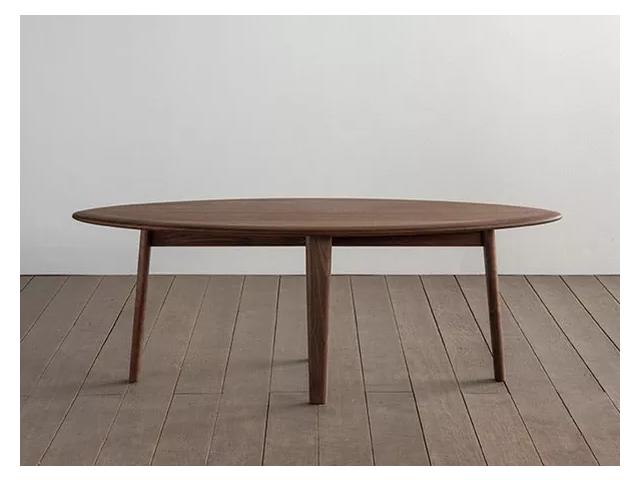 ユーロ リビングテーブル SIKI FURNITURE シキファニチア/楕円形テーブル