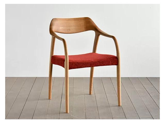 ワープ チェアー SIKI FURNITURE シキファニチア/椅子 無垢材 アーム
